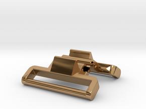 Model 1624 (metal) G-Shock adapter in Polished Brass
