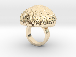Urchin Statement Ring - US-Size 2 1/2 (13.61 mm) in 14k Gold Plated Brass