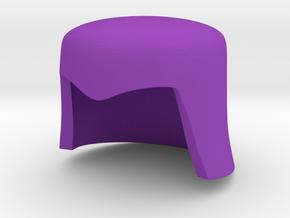 Cobra Commander Helmet For Minimates in Purple Processed Versatile Plastic