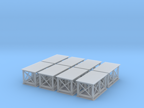 Birchwood Support Structure Z Scale in Smooth Fine Detail Plastic