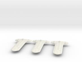 Terran (TFN) Light Cruiser Datagroup in White Natural Versatile Plastic