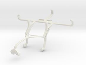 Controller mount for Xbox 360 & Oppo Joy 3 in White Natural Versatile Plastic