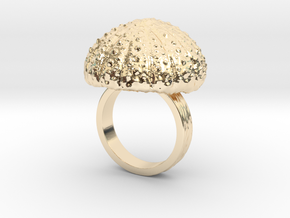 Urchin Statement Ring - US-Size 7 1/2 (17.75 mm) in 14K Yellow Gold