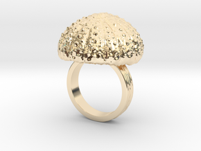 Urchin Statement Ring - US-Size 7 (17.35 mm) in 14K Yellow Gold