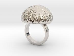 Urchin Statement Ring - US-Size 7 (17.35 mm) in Platinum
