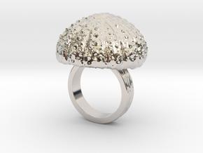 Urchin Statement Ring - US-Size 5 (15.7 mm) in Platinum