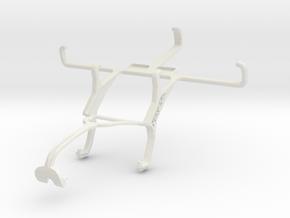 Controller mount for Xbox 360 & Sony Xperia E4g in White Natural Versatile Plastic
