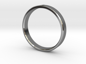 Ring Of Awesomeness in Fine Detail Polished Silver