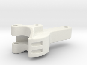 """3/4"""" scale coupler in White Strong & Flexible"""