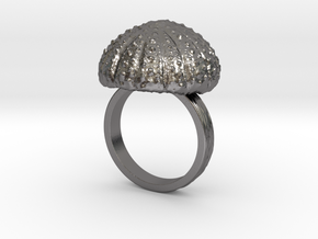 Urchin Statement Ring - US-Size 11 1/2 (21.08 mm) in Polished Nickel Steel