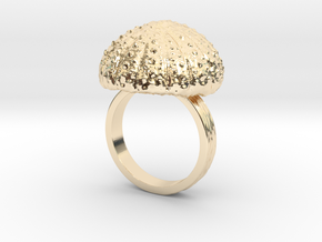Urchin Statement Ring - US-Size 11 (20.68 mm) in 14k Gold Plated Brass