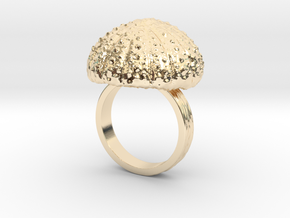 Urchin Statement Ring - US-Size 9 1/2 (19.41 mm) in 14k Gold Plated Brass