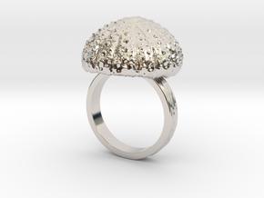Urchin Statement Ring - US-Size 11 1/2 (21.08 mm) in Platinum