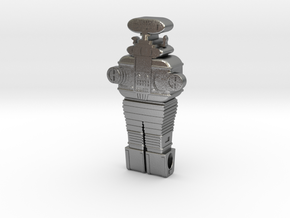 KeyChain B9 Robot Ver 1.3 in Natural Silver