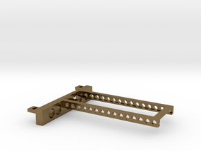 G751 M.2 Bracket With Holes 2 drives open top in Polished Bronze