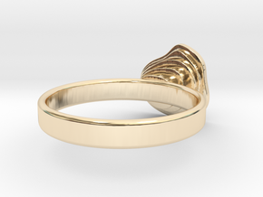 Gold Mine ring - UK N (inside diameter 17.2mm) in 14K Yellow Gold