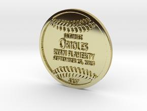 Ryan Flaherty in 18k Gold