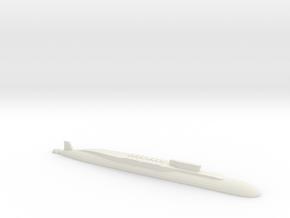 Borei-Class SSBN, 1/2400 in White Natural Versatile Plastic