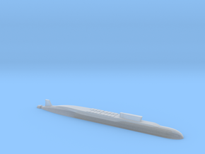 Borei-Class SSBN, 1/2400 in Smooth Fine Detail Plastic