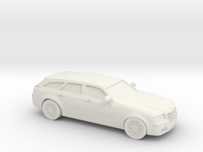 1/87 2010 Chrysler 300c Touring in White Natural Versatile Plastic