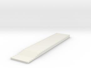 NQP04 Railway platform in White Natural Versatile Plastic