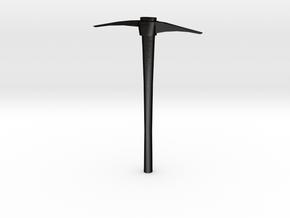 1/10 Scale pick in Matte Black Steel