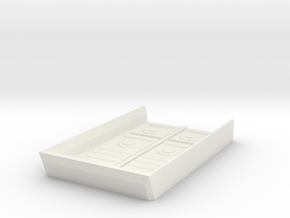 Designed Door (Part of the Kaaba) in White Natural Versatile Plastic