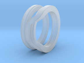 Balem's Ring1 - US-Size 5 (15.70 mm) in Smooth Fine Detail Plastic
