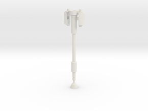 idw: Prime Axe Pole for deluxe in White Natural Versatile Plastic
