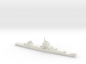 USS Long Beach, 1961, 1/2400 in White Natural Versatile Plastic