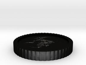 Heisenberg coin from Breaking bad in Matte Black Steel