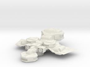 Starcruiser in White Natural Versatile Plastic