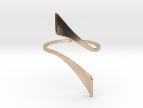 Back to basic collection - size 8 US in 14k Rose Gold Plated Brass