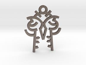 Twin Souls / Almas Gemelas in Stainless Steel