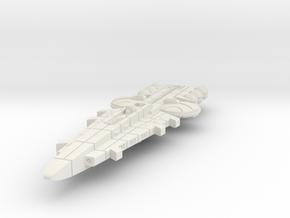 Orion (KON) Battleship in White Natural Versatile Plastic