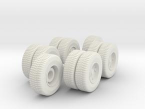 Mack CF wheels in White Strong & Flexible