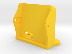 Holder for Runcam Skyplus - 10 degree in Yellow Processed Versatile Plastic