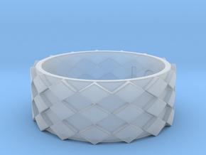 Futuristic Diamond Ring Size 13 in Smooth Fine Detail Plastic