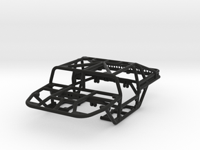 Scorpion - T 1/24th scale rock crawler chassis in Black Natural Versatile Plastic
