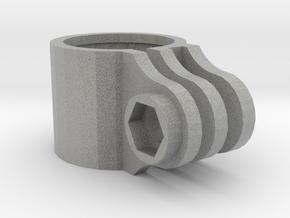 Paintball Barrel mount for GoPro Action Camera  in Metallic Plastic