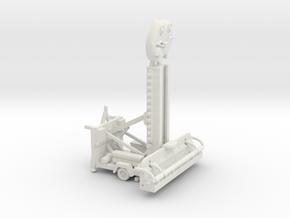 Froghopperloading Position   in White Natural Versatile Plastic