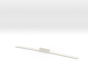 ME83-TAN-48R LEFT in White Natural Versatile Plastic