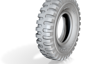 1-24 Tire 1200x20 in Frosted Ultra Detail