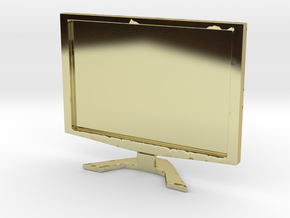 "Acer 22"" LCD - 1:12 scale in 18K Gold Plated"