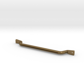 1/10 scale CJ-7 passenger grab bar in Polished Bronze