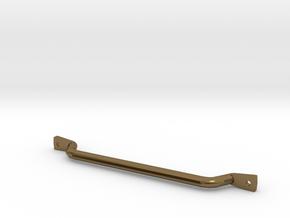 1/10 scale CJ-7 passenger grab bar in Polished Bronze