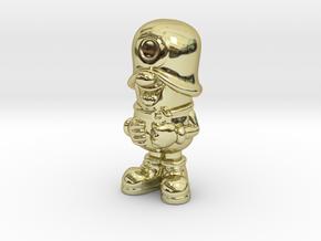 SmileCappy FullColor in 18k Gold