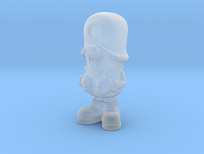 SmileCappy FullColor in Smooth Fine Detail Plastic
