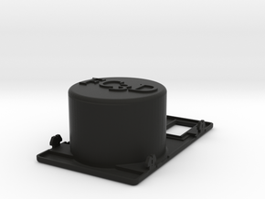 Cup Holder Two Switches in Black Strong & Flexible