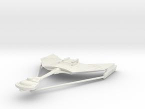 1/2500 D12 Kteremny Destroyer 229 m (w/support) in White Natural Versatile Plastic